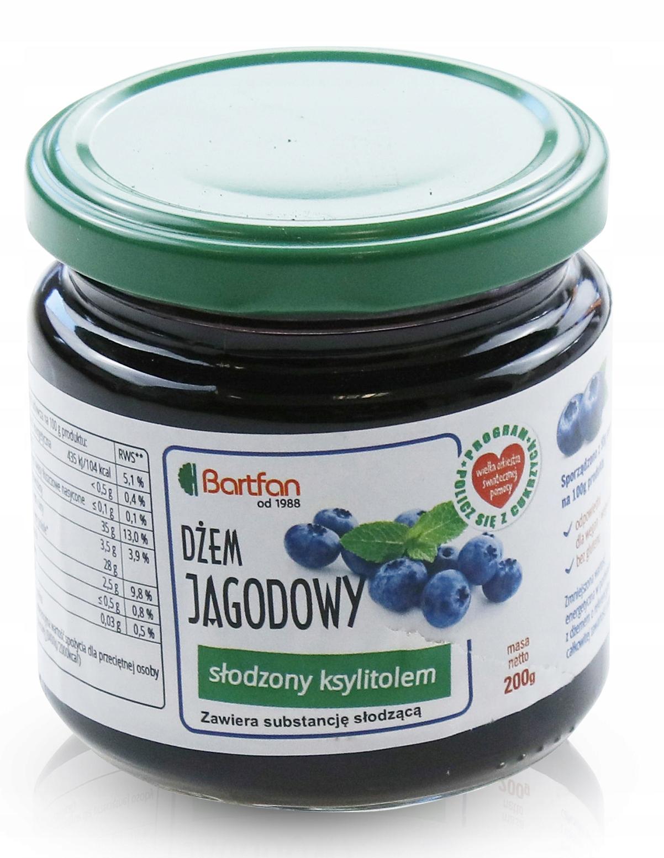 100% ягодный джем, подслащенный кето-ксилитом