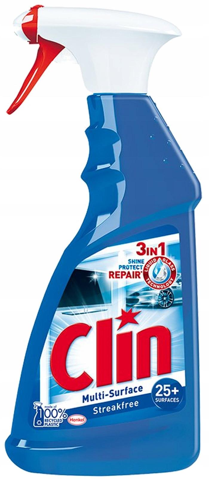 Clin Multi-Shine Жидкость Мытья Стекол Окон 500мл