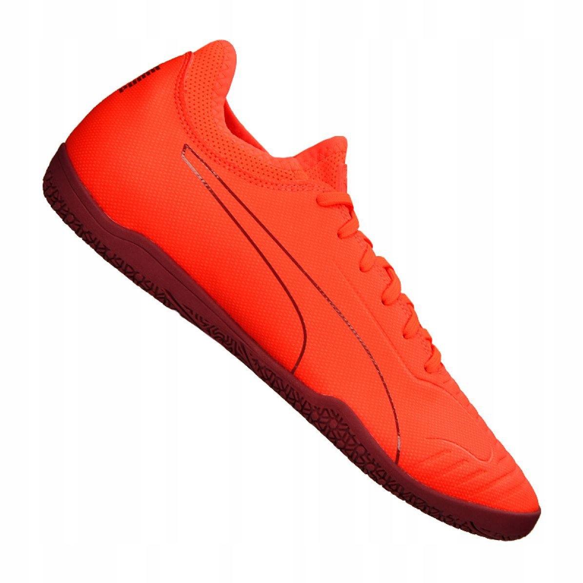 Buty halowe Puma 365 Sala 2 M 105758 02 pomarańczowe
