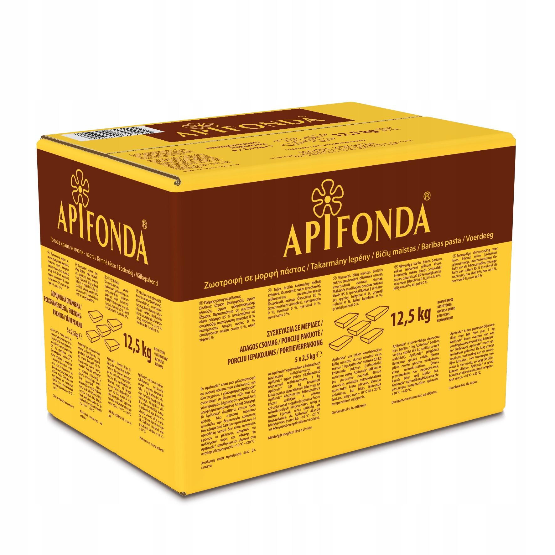 Тесто Апифонда для кормления пчел 2,5 кг