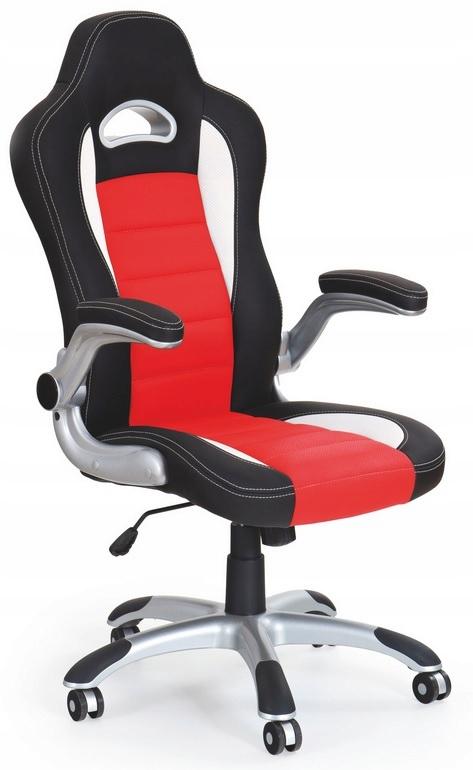Kancelárska stolička Black LOTUS-a-Červená hojdacia Stoličky