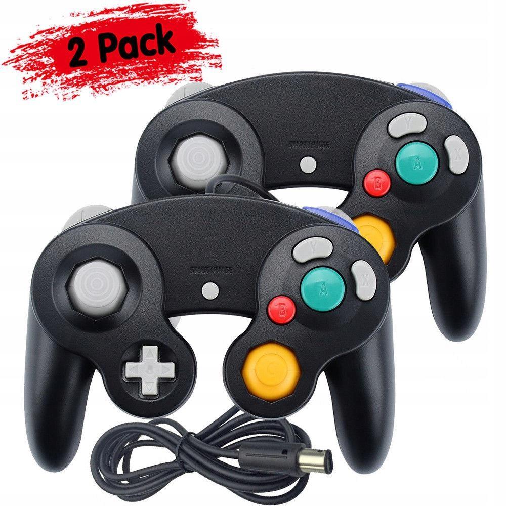 Ovládač Wii / Gamecube, 2 ks, čierny