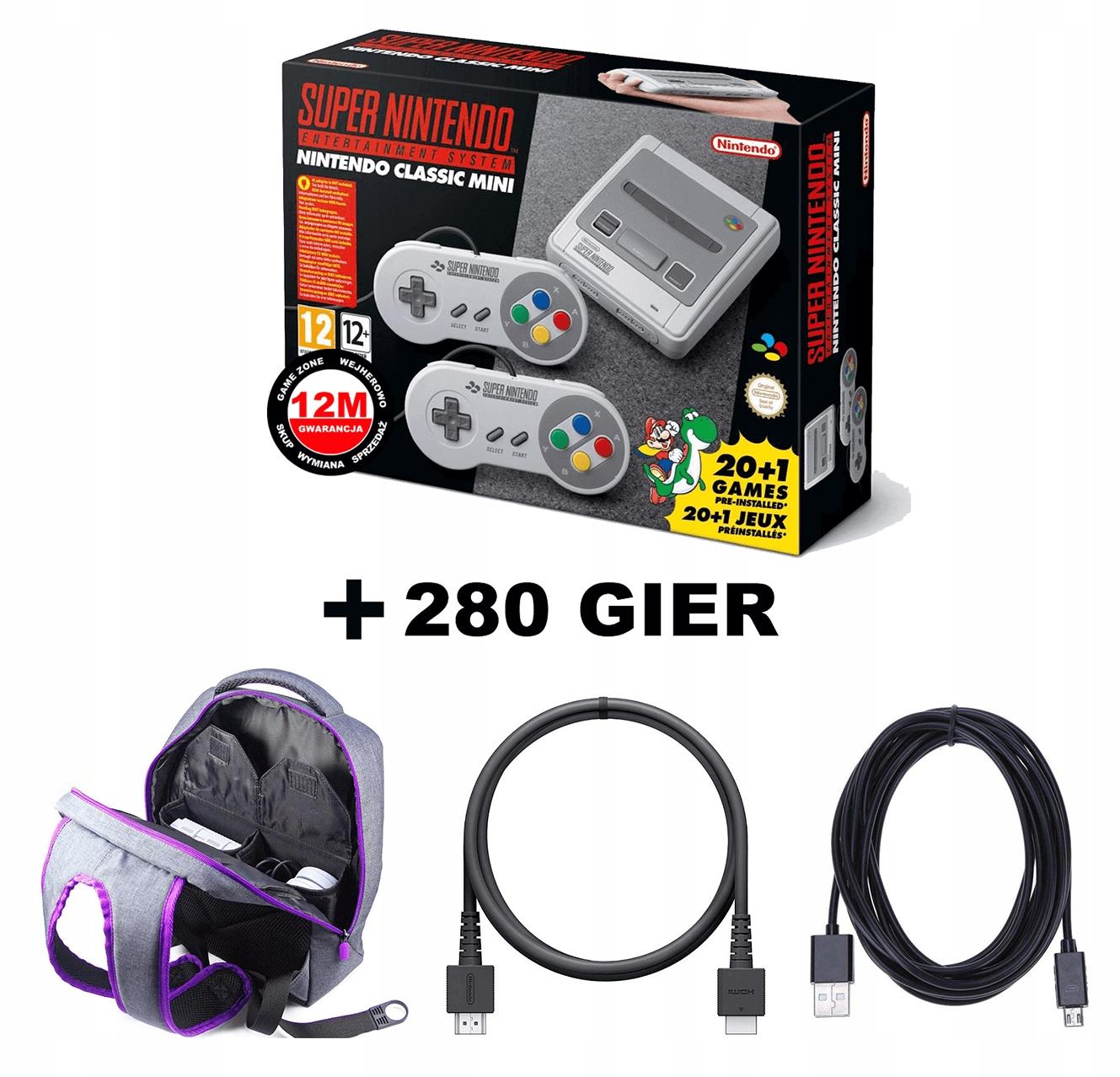 Nintendo Sens Mini 280 Hry NES / ATARI / SEGA + BACKPACK
