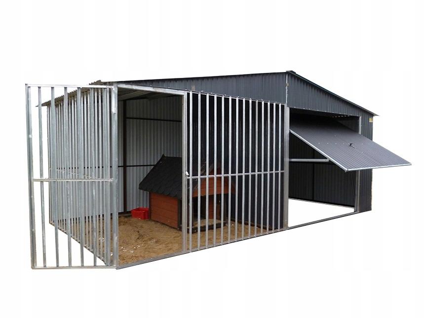Жестяная крыша с навесом, манеж для собаки