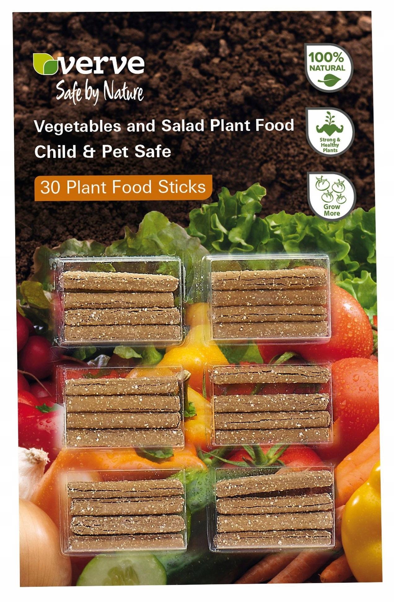 VERVE Nawóz organiczny do warzyw 30 pałeczek A/P39