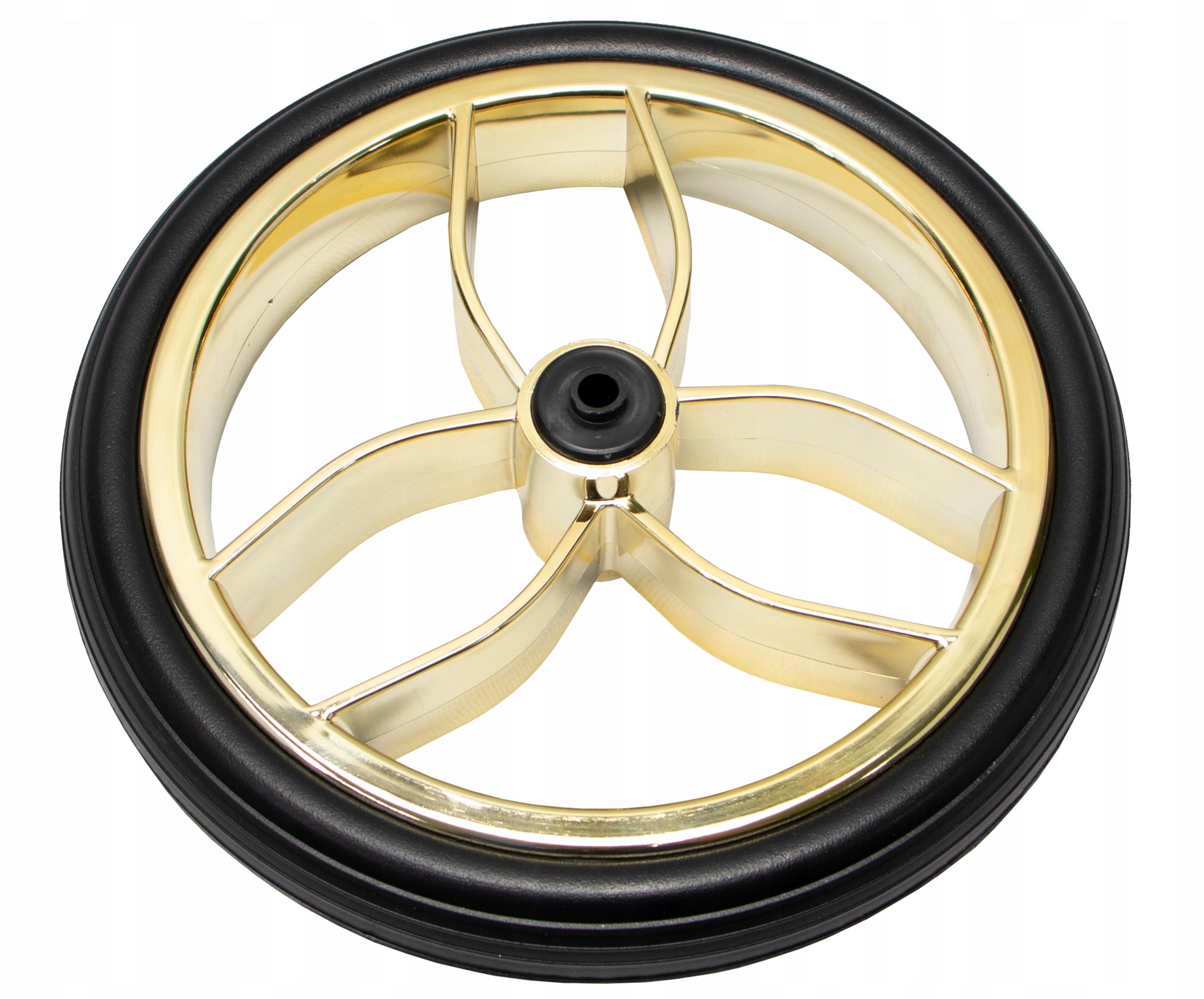 Trolejové koleso 10 ″ palce Tubeless Futuro Gold