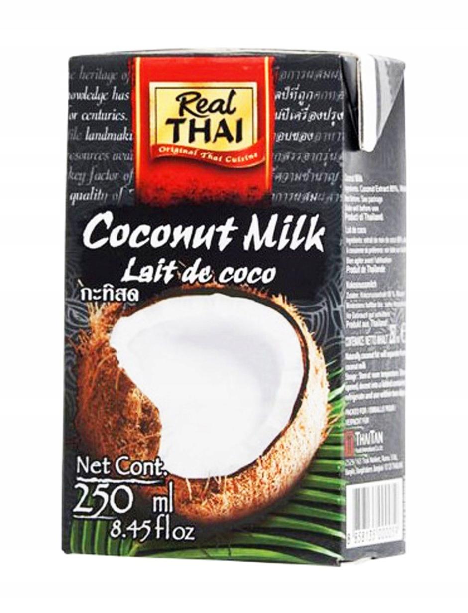 Item Milk Coconut Milk Real Thai 36x250 ml