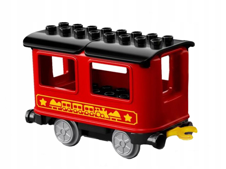 TS Nový LEGO DUPLO - retro vlak OSOBNÝ VOZEŇ