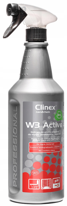 Препарат W3 Active BIO 1л для уборки туалетов