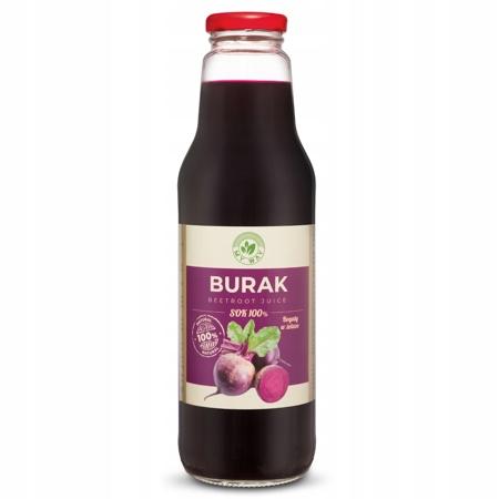 СВЕКАЛЬНЫЙ СОК 100% натуральный без сахара 750 мл MY WAY