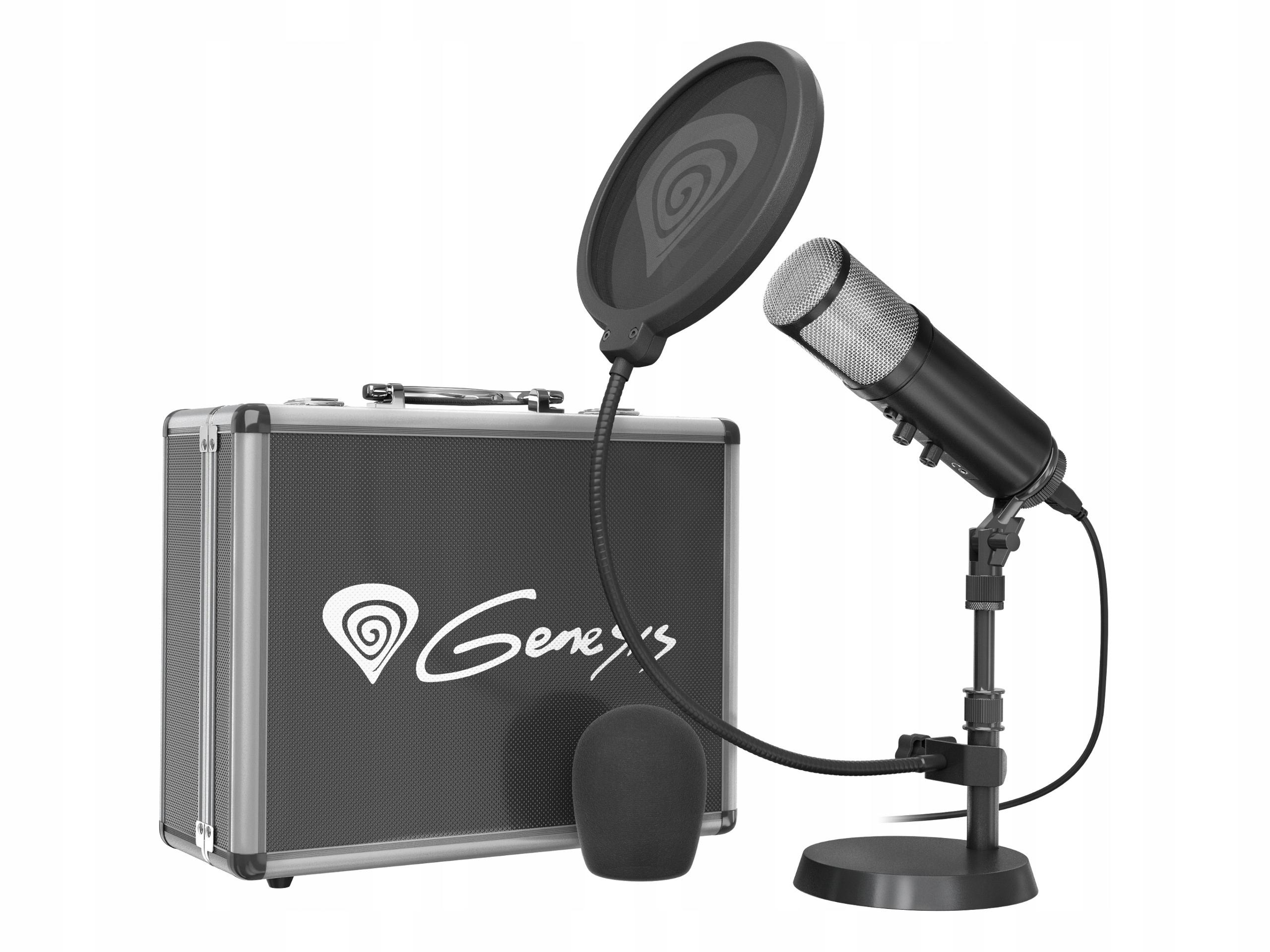 Štúdiový mikrofón Genesis Radium 600 Streamer