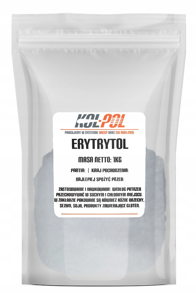 Erytrol ERYTRYTOL подсластитель сахар 1 кг 1000 г E968