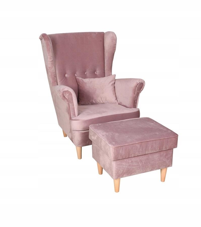 Кресло USZAK MOON в скандинавском стиле плюс подушка
