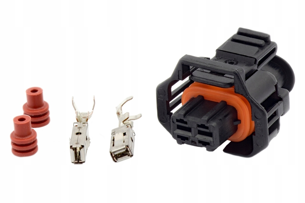 разъем кубик инжектор впрыск тип bosch bmw e46