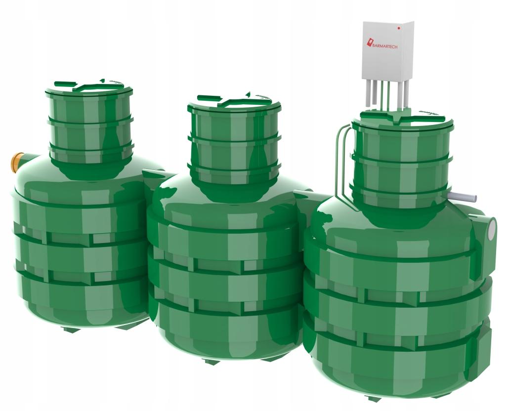 Установка биологической очистки Bio Solid 8 SBR 1,2 м3 / сут.