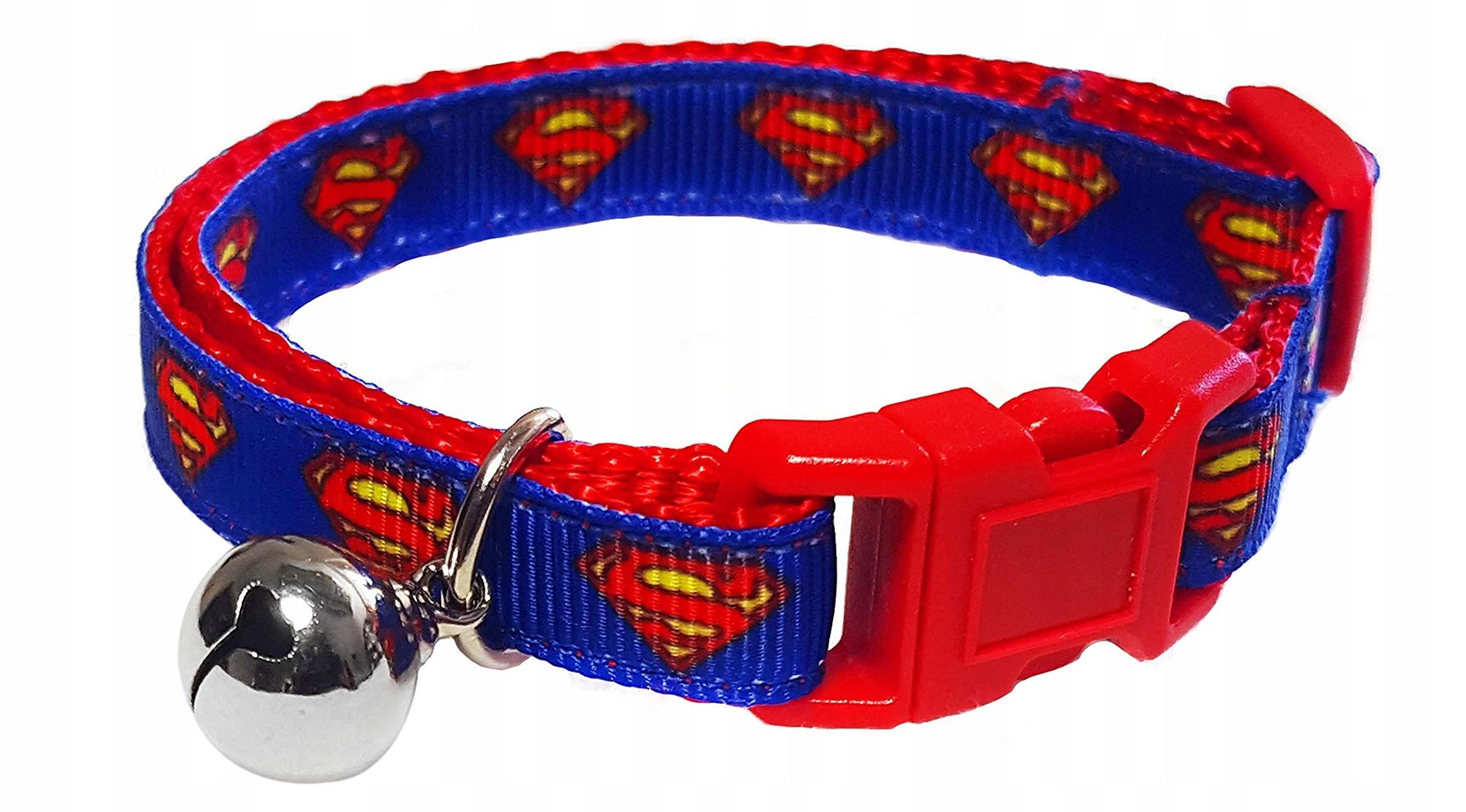 Obrożka SUPERMAN pre Mačku s Bell
