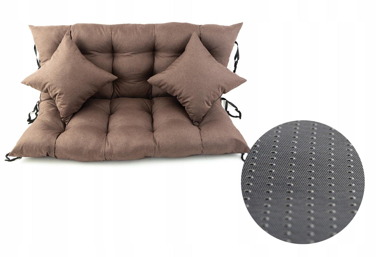 Подушка для садовых качелей 120x55x55 Лен