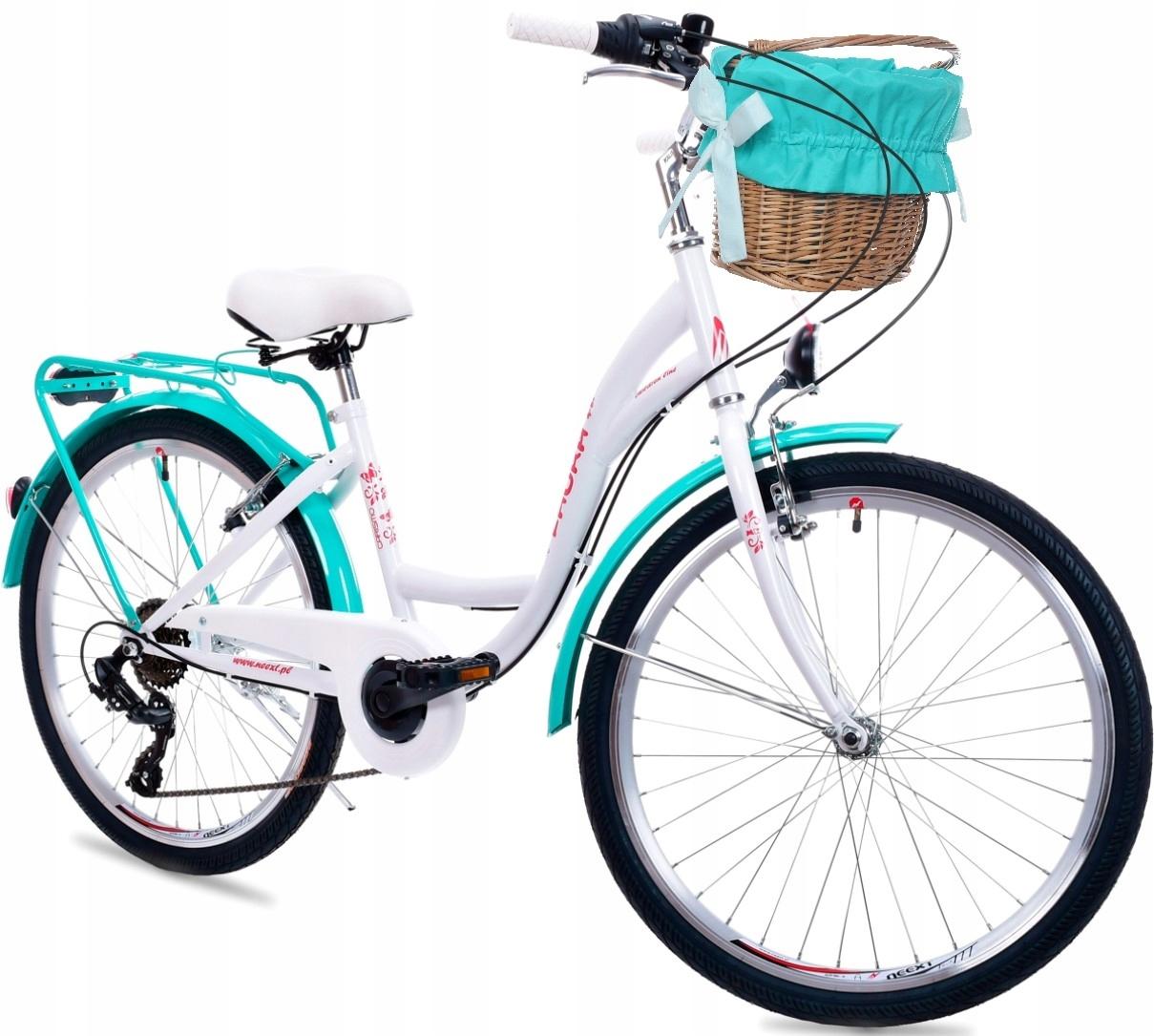 Dievčenskú na Bicykli Mesto 24 LAURA 6-rýchlostné SHIMANO