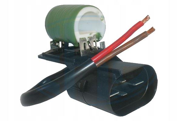 astra h резистор вентилятора радиатора 4pin+2przew