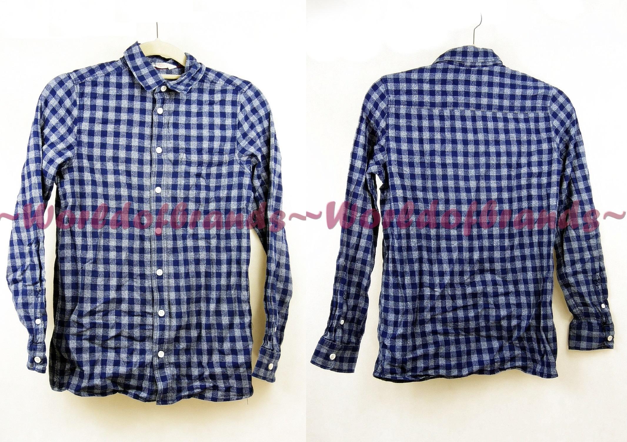 Kockovaná košeľa H&M Retro šachovnica