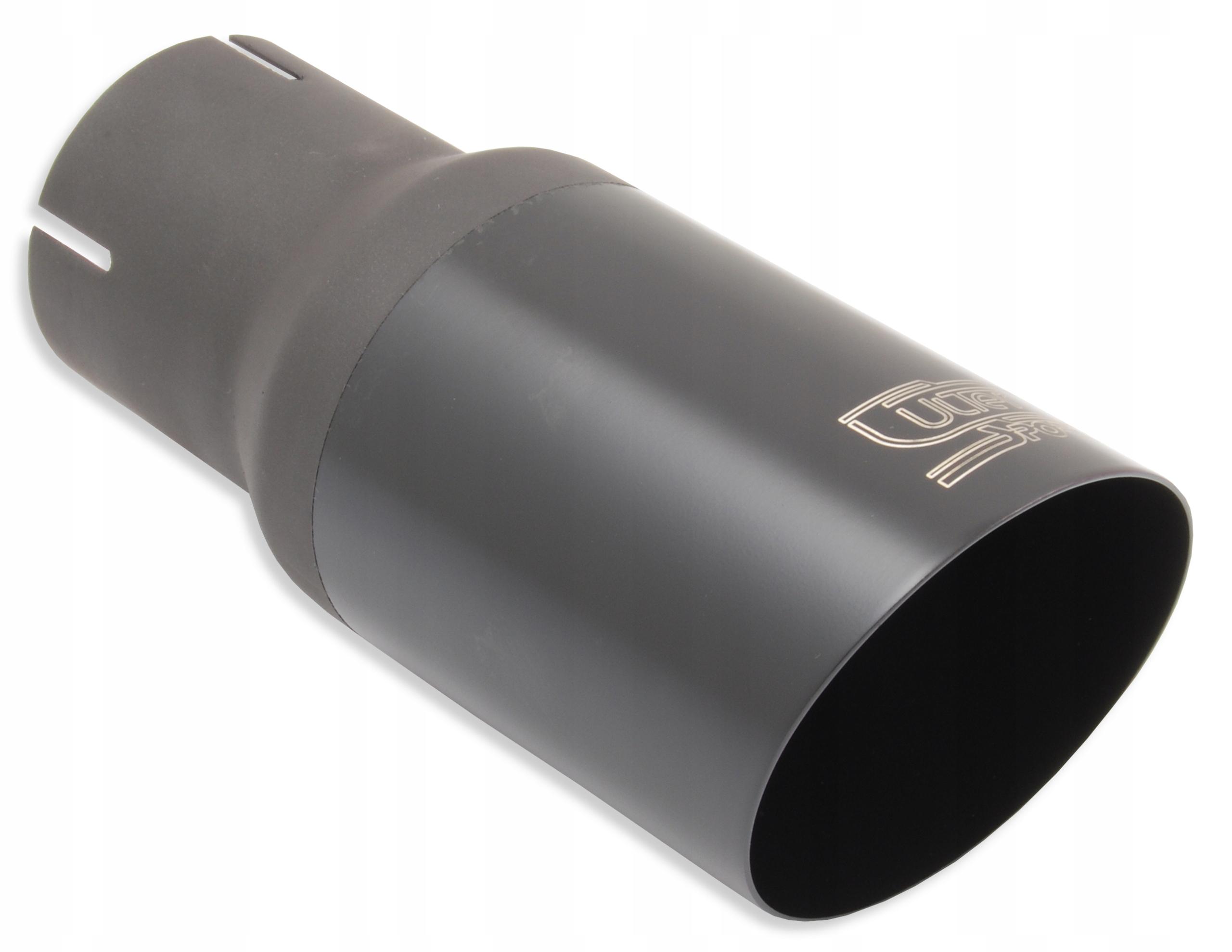 наконечник глушителя выдохе круглая 80 мм  черная