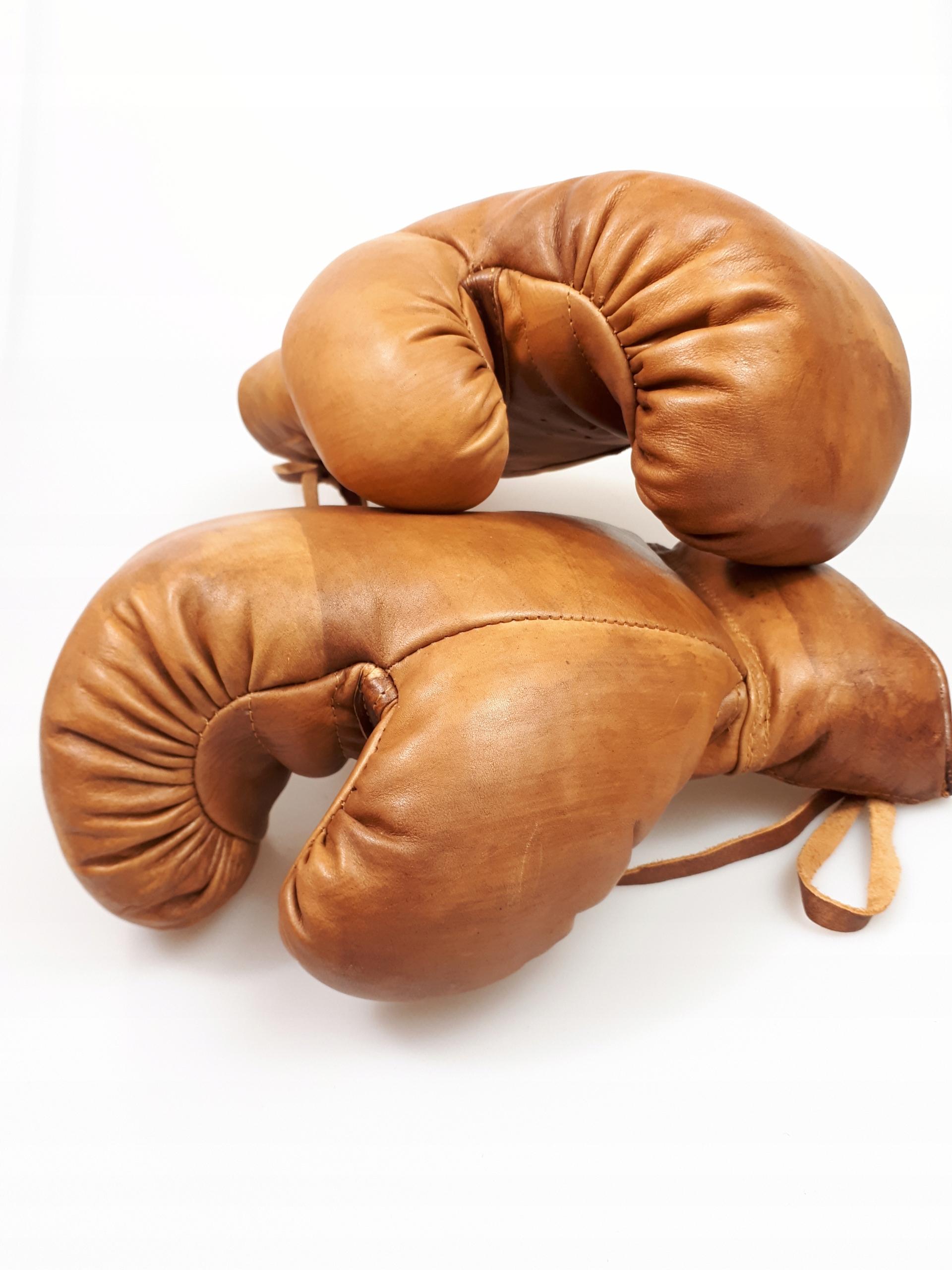 Boxerské rukavice RETRO z pravej kože