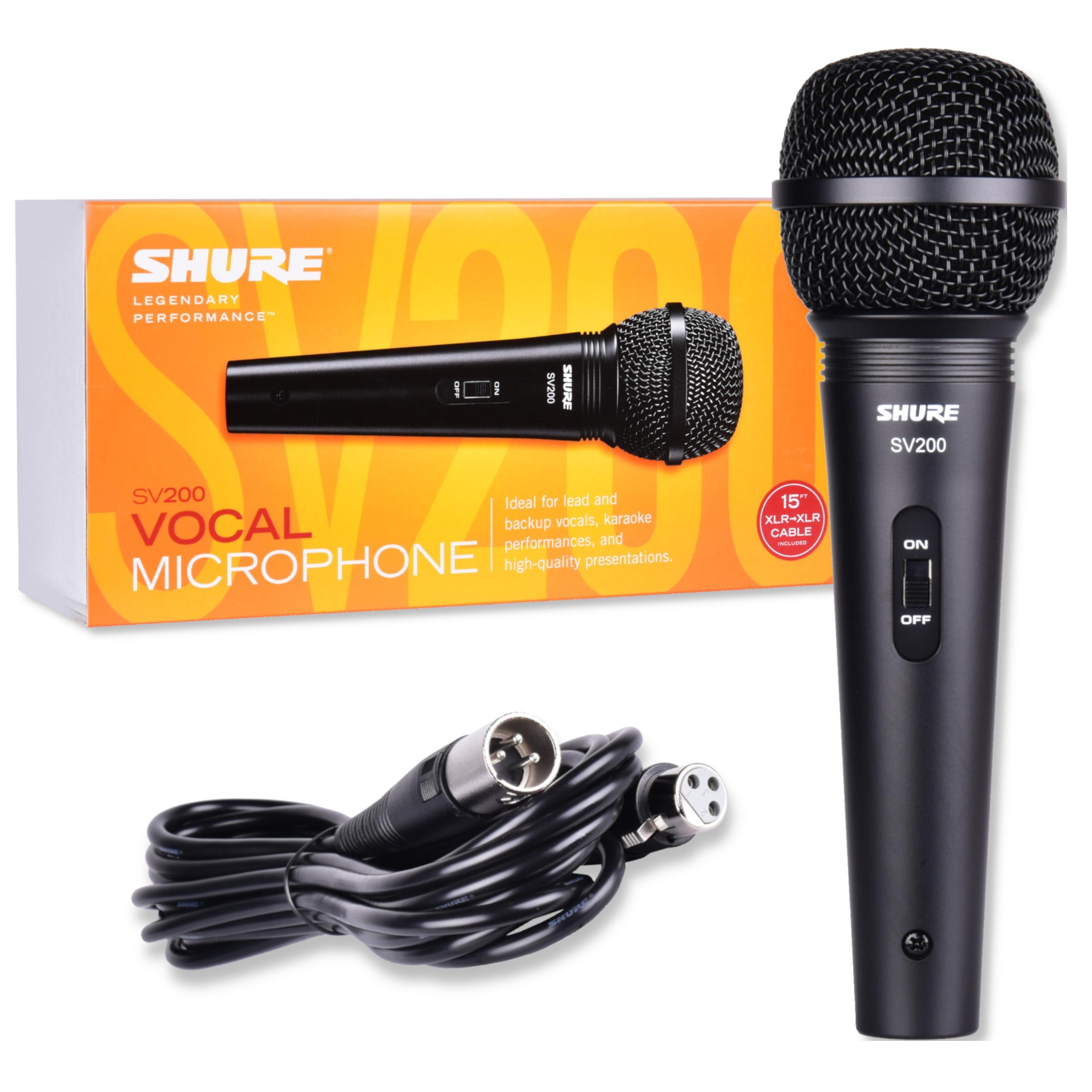 Shure SV 200 Dynamický vokálny mikrofón