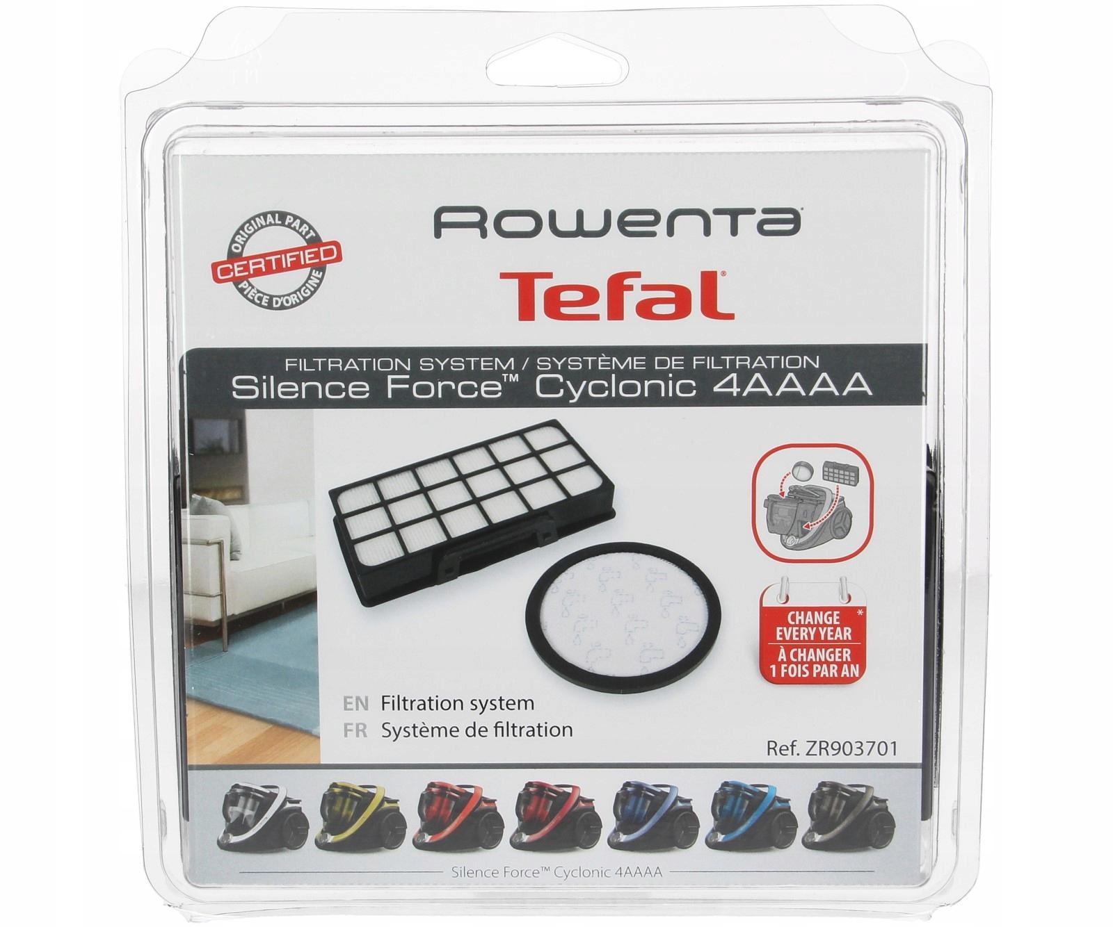 TEFAL filtre pre bezvreckové vysávače ZR903701