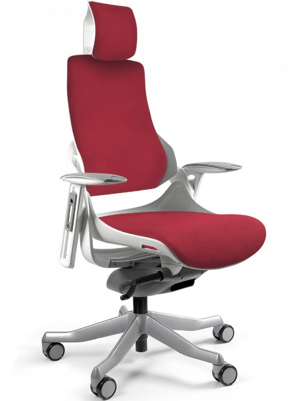 Stolička WAU white - Deepred ergonomické kancelárske