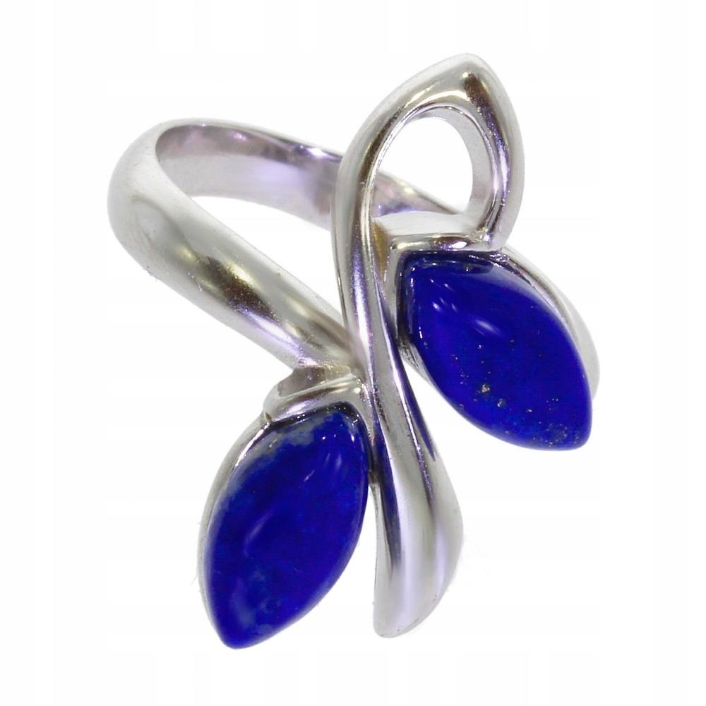 Strieborný Prsteň s Lapisem Lazuli 42-24