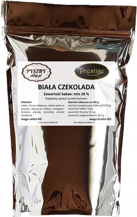 BELGICKÝ BIELEJ Čokolády pre fontány a fondue 2 KG