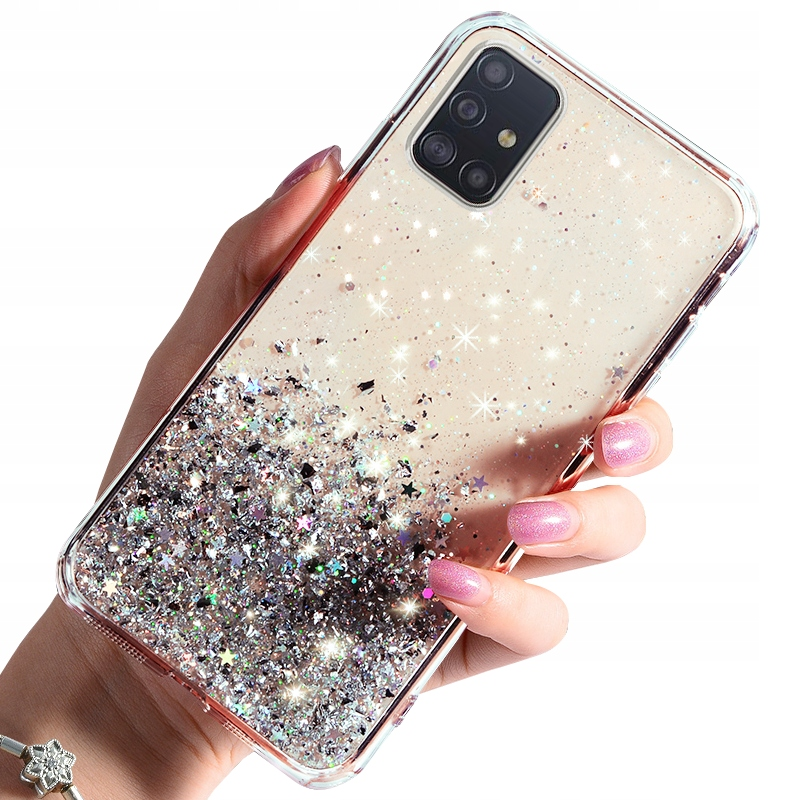 Etui do Samsung Galaxy M31S CASE BROKAT + SZKŁO 9H