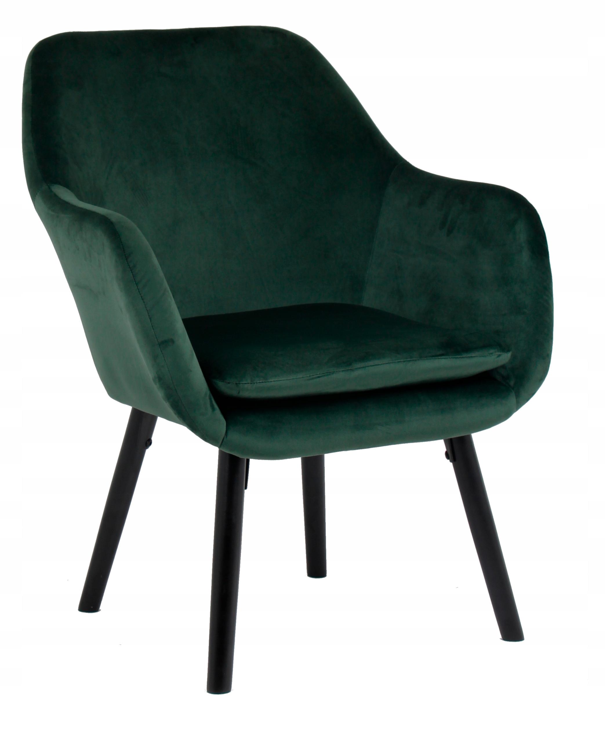 Мягкое кресло Boston 2 бархат темно-зеленый