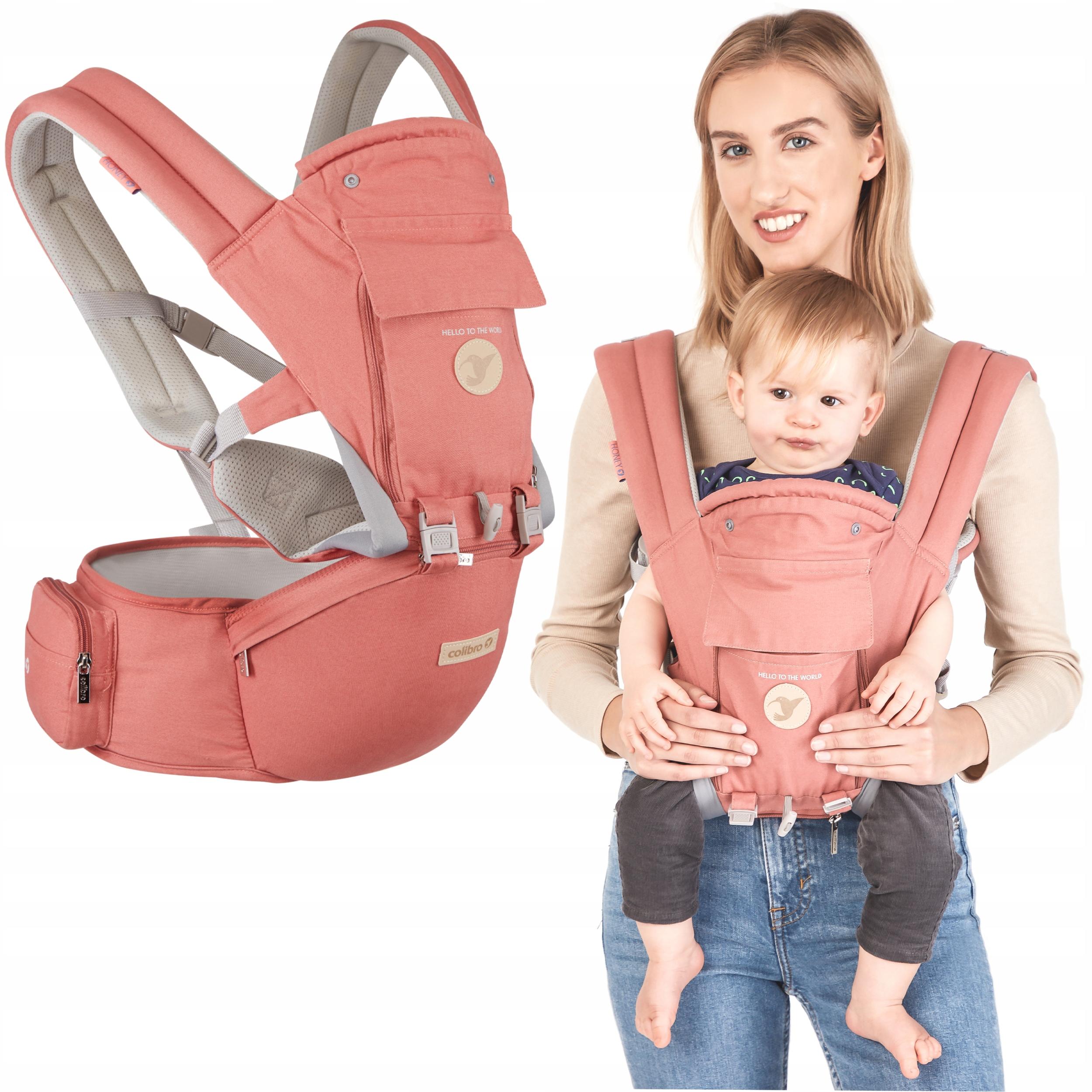 Nosidełko dla dziecka ERGONOMICZNE 12W1 DO 24 MSC