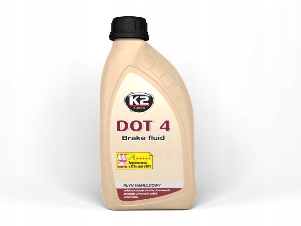 ТОРМОЗНАЯ ЖИДКОСТЬ DOT-4 0.5 L K2