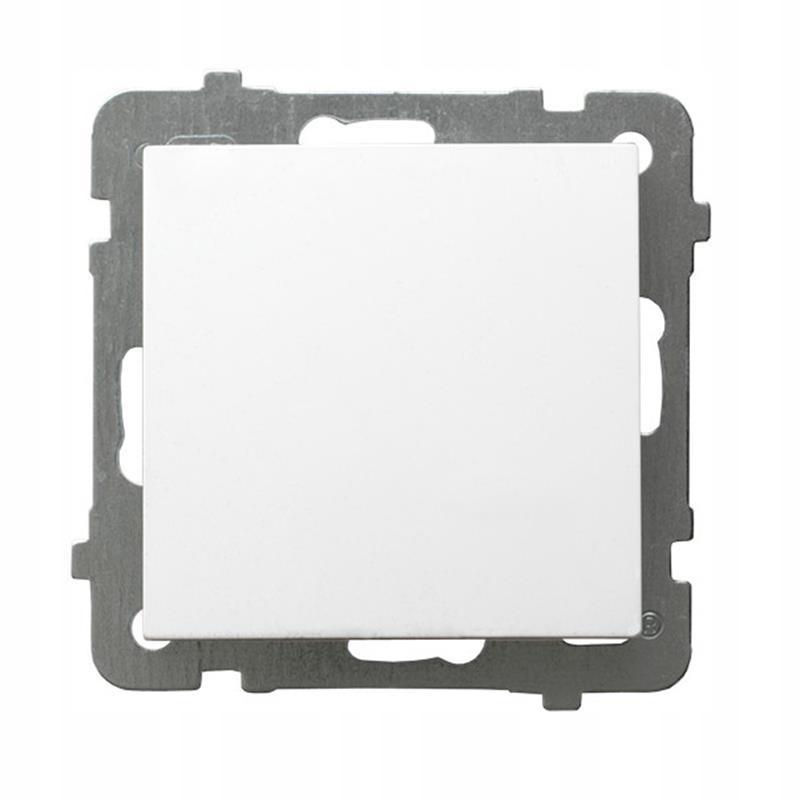 Ospel AS белый - коннектор ŁP-1G / m / 00 одинарный