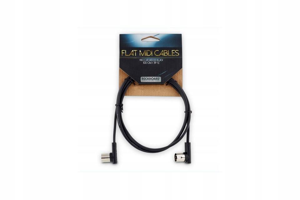 RobOblokový midi kábel s plochými uhlovými zátkami