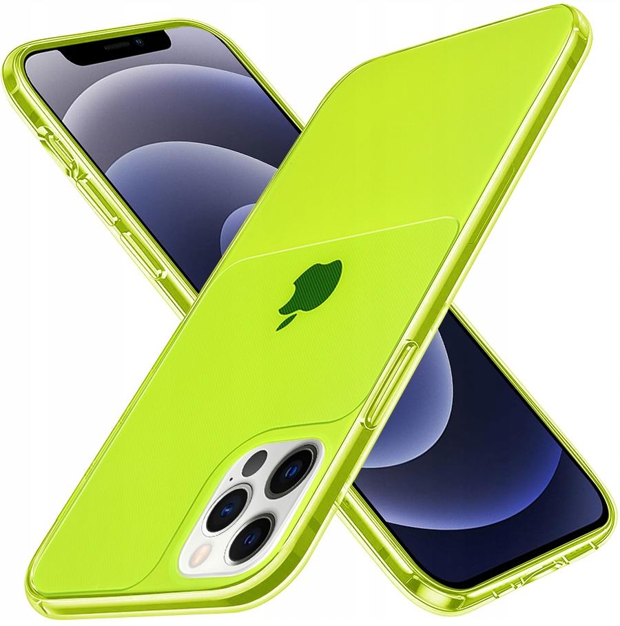 Etui do iPhone 12 Pro Case Silikon Guma + SZKŁO