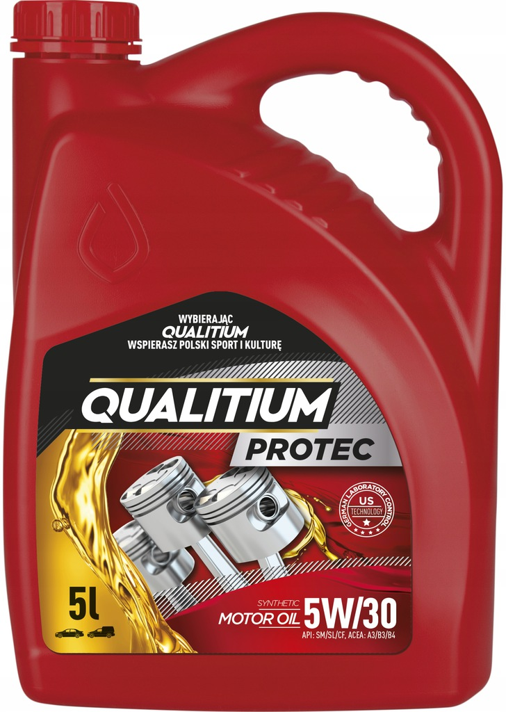 QUALITIUM PROTEC 5W30 Synthetic Oil 5L