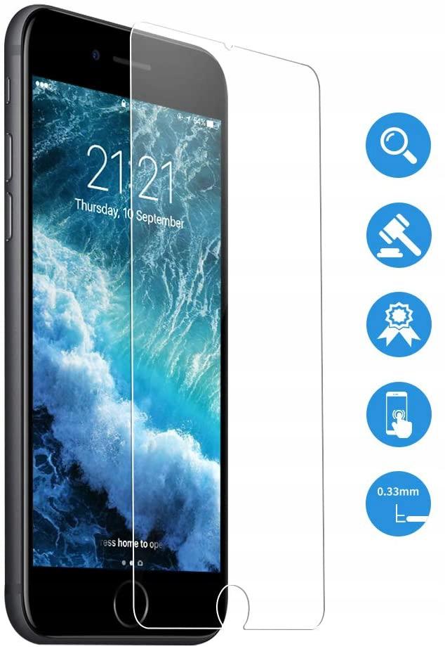 Szkło Hartowane do iPhone 8 Plus / 7 Plus / 6 Plus Rodzaj szkło hartowane