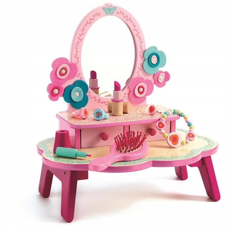 Drevený toaletný stolík pre DJECO play