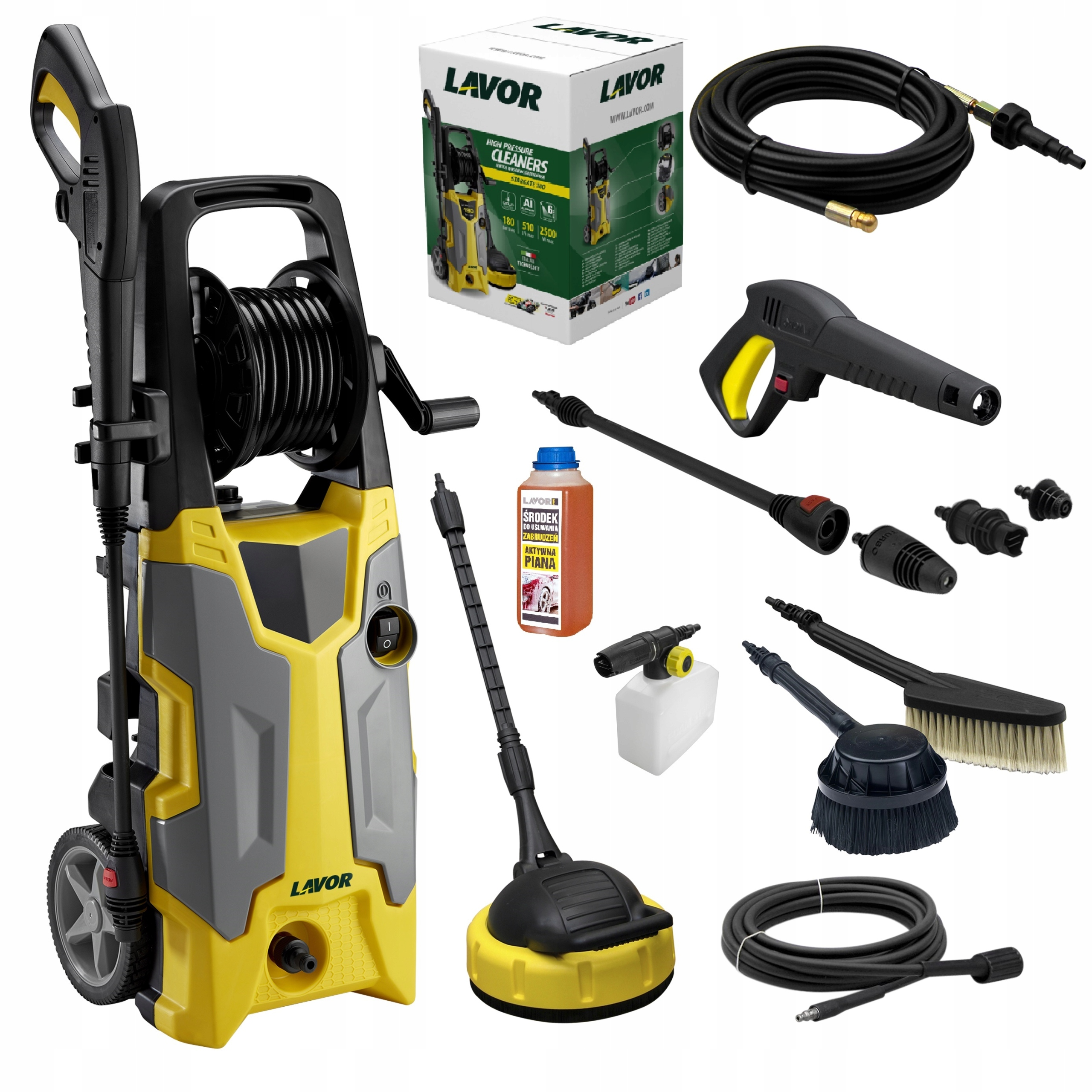 STRONG PRESSURE WASHER Stargate 270ew Bar 2500W