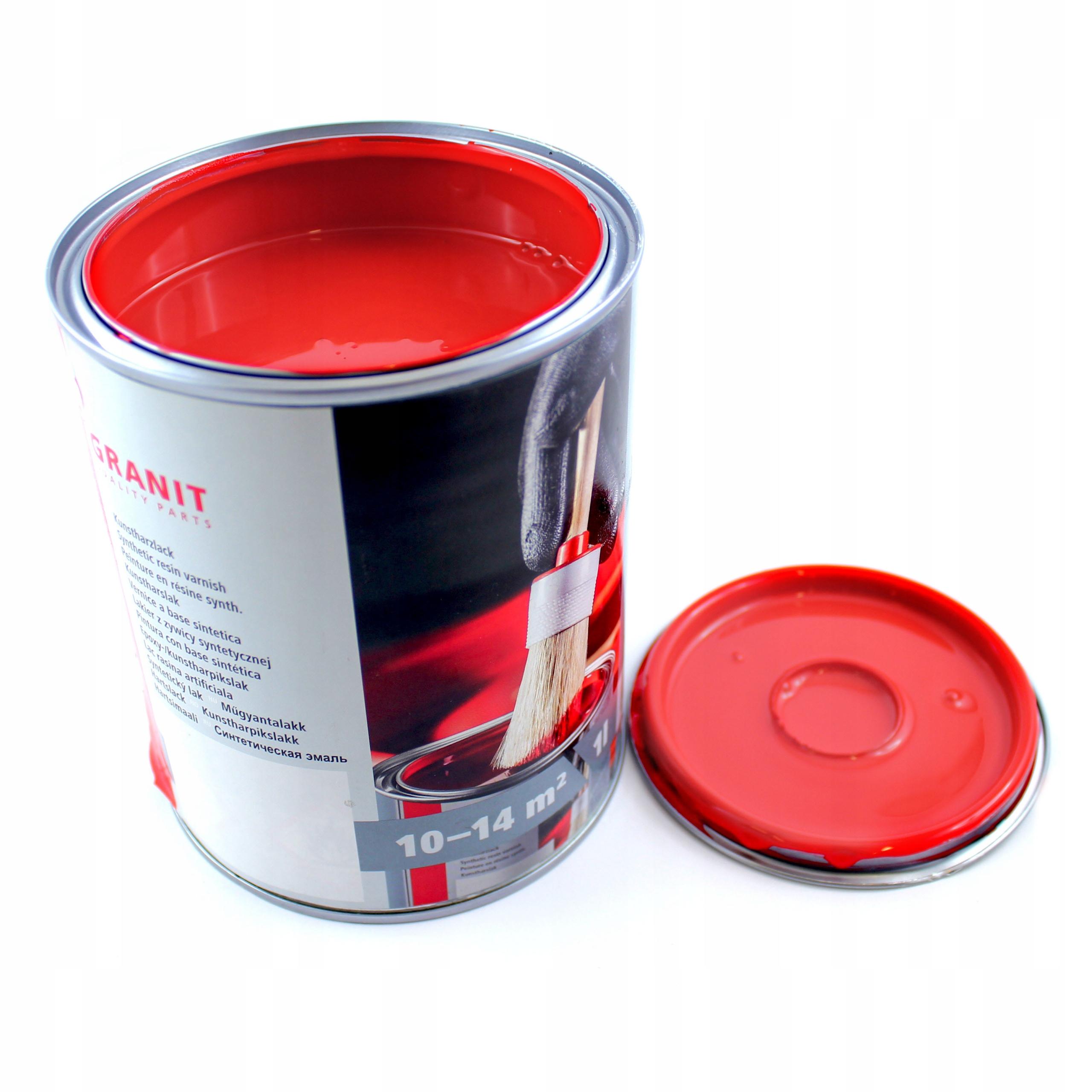 Nopolux краска с оттенком RAL 3020 красный предупреждающий объем упаковки 1000 мл
