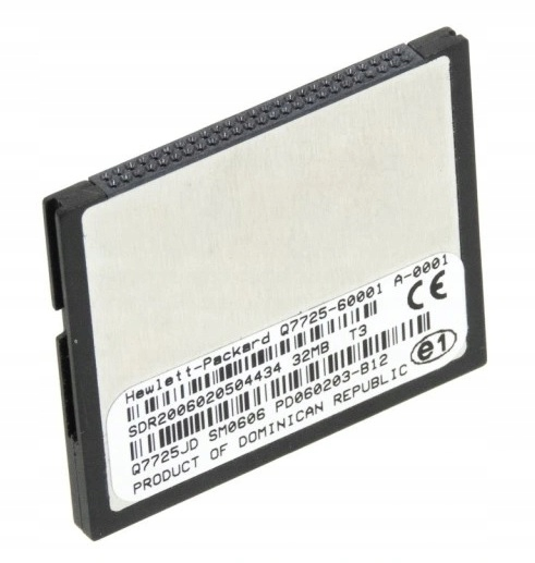 HP 4700 Compact Flash 32MB Q7725-60002 Q7725JM