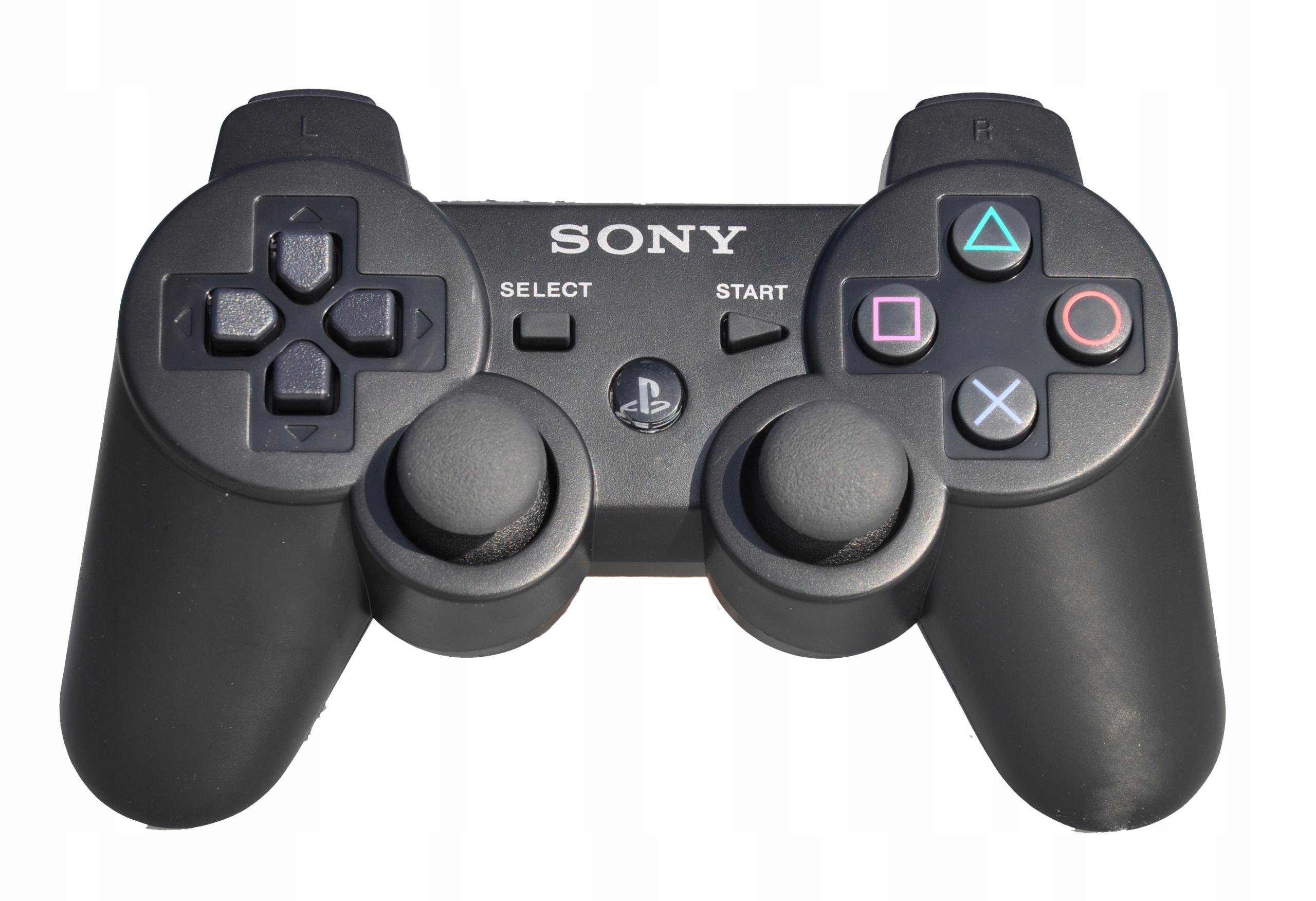 Item PAD SONY DUALSHOCK 3 BLACK PS3 BLACK OEM+FREE SHIPPING
