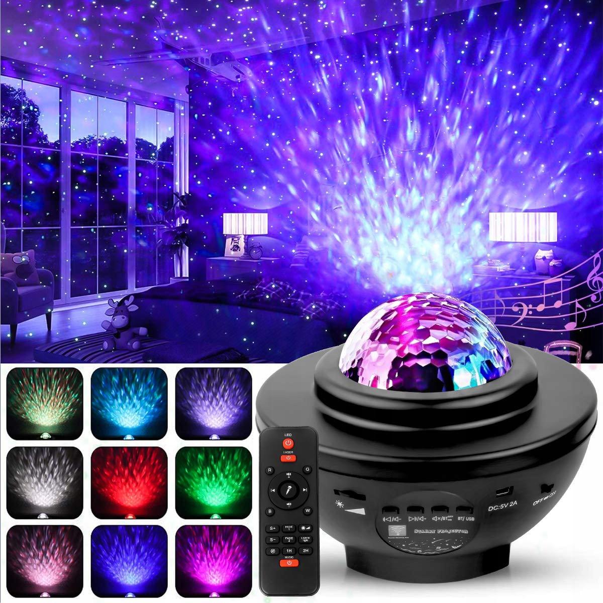 Projektor Gwiazd LED - Lampka Nocna NEW DESIGN