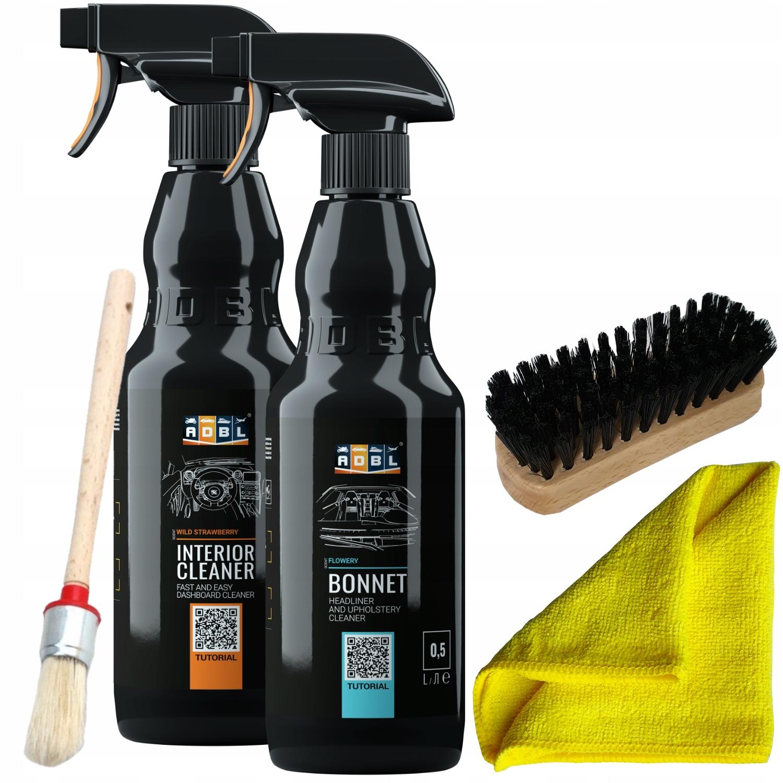 ADBL Cleaning Моющий набор для мытья обивки из пластика