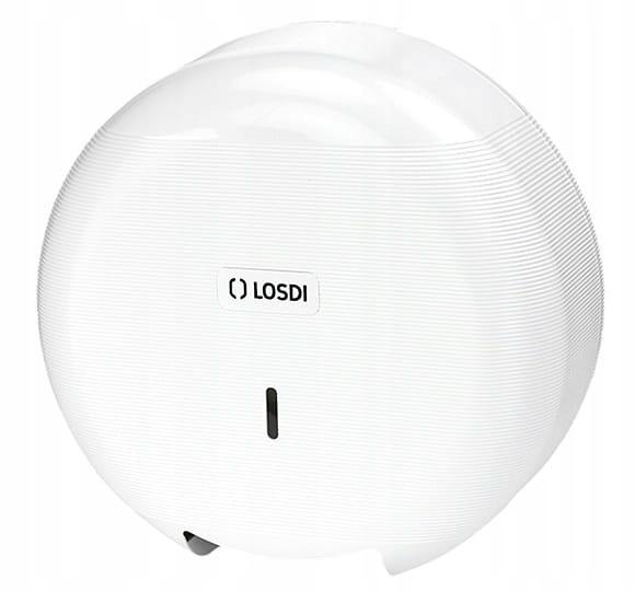 Zásobník na toaletný papier CP300 Lux biely