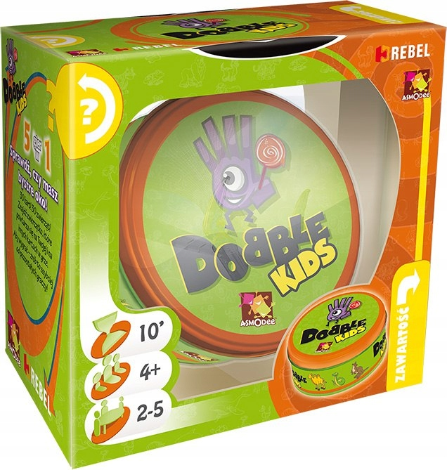 Item DOBBLE KIDS FOR THE SMALLEST DOUBLE DOBLE REBEL