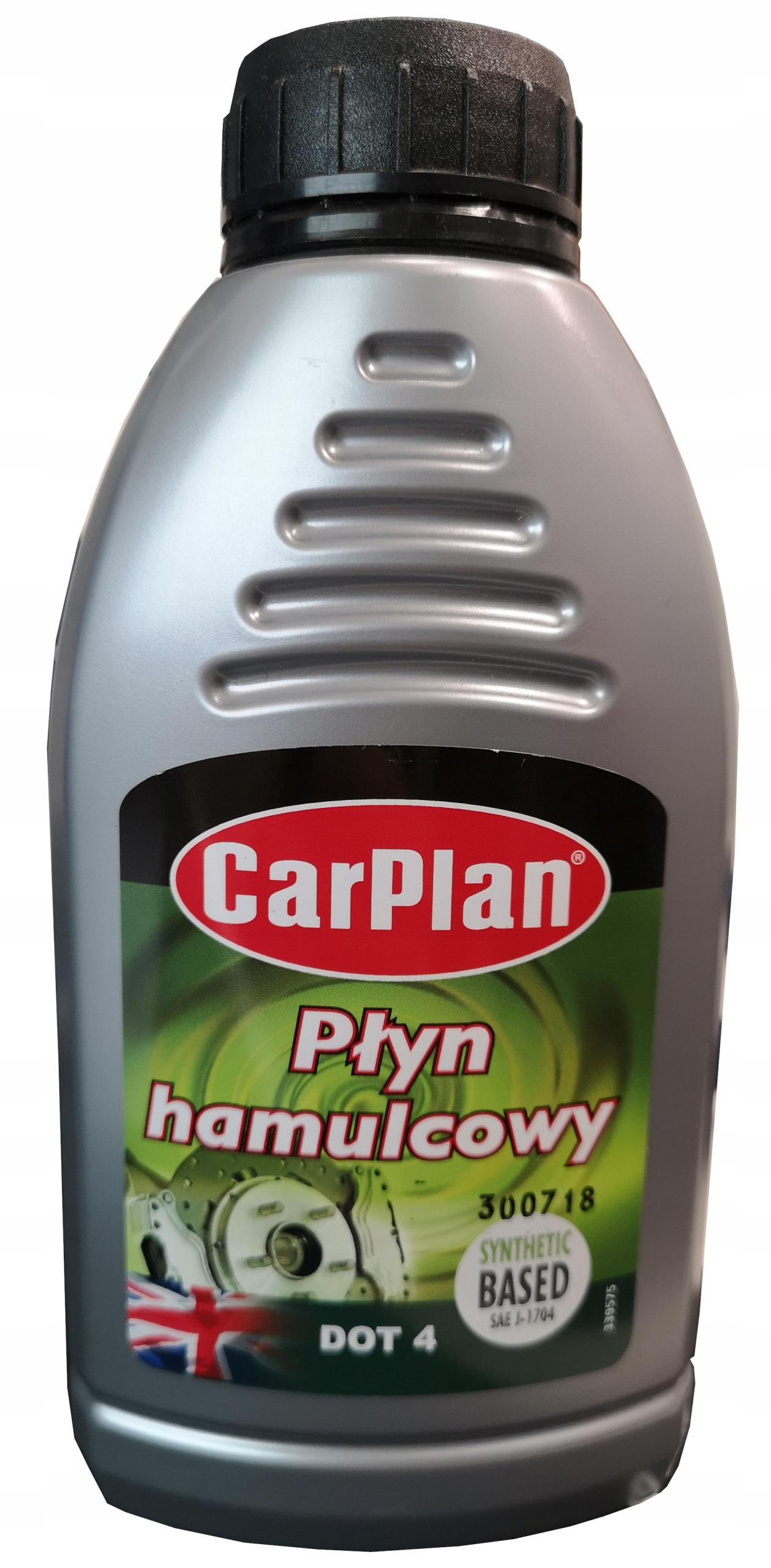 Carlube Płyn hamulcowy DOT 4 500 ml DOT4